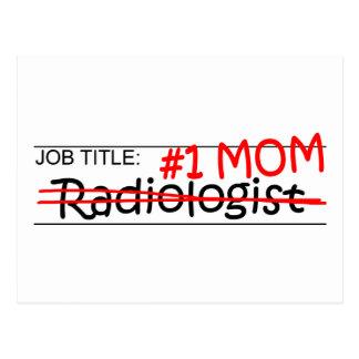 Job Mom Radiologist Postcard