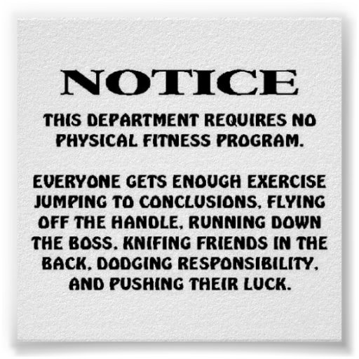 Job Notice Print