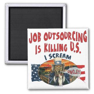 Job Outsourcing is Killing U.S Magnet
