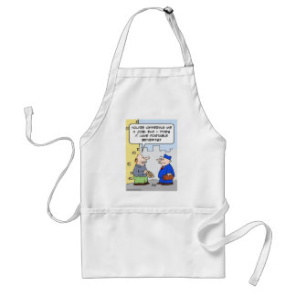 job portable benefits adult apron