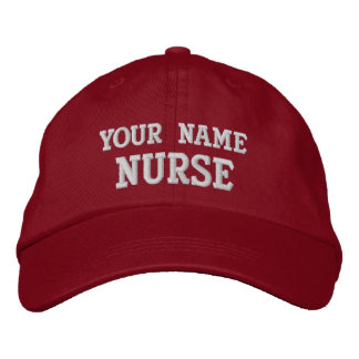 Job Tees Personalized Nurse Hat