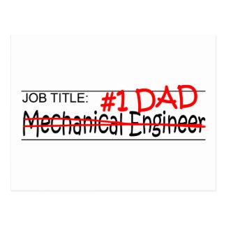 Job Title #1 Dad Mech Eng Postcard