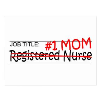 Job Title #1 Mom RN Postcard