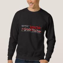 Job Title Ninja 2nd Grade Sweatshirt