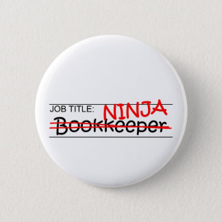 Job Title Ninja Bookkeeper Button