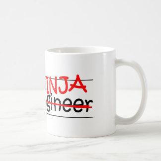 Job Title Ninja - Civil Eng Mug