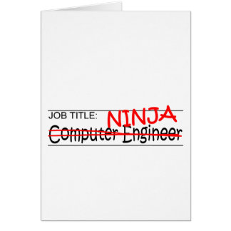 Job Title Ninja - Comp Eng Card