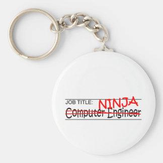 Job Title Ninja - Comp Eng Keychain