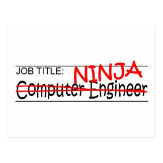 Job Title Ninja - Comp Eng Postcard
