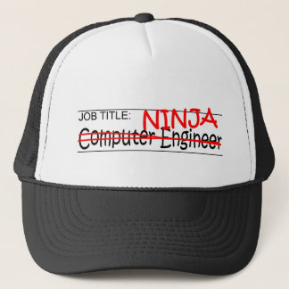 Job Title Ninja - Comp Eng Trucker Hat