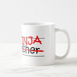 Job Title Ninja - Dispatcher Classic White Coffee Mug