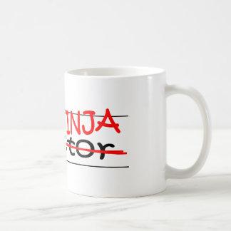 Job Title Ninja Doctor Mugs