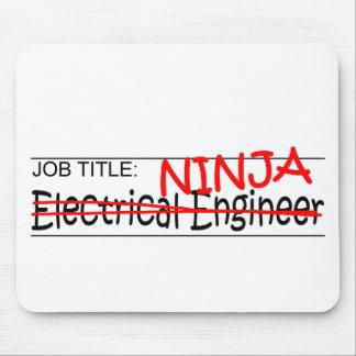 Job Title Ninja EE Mouse Pad