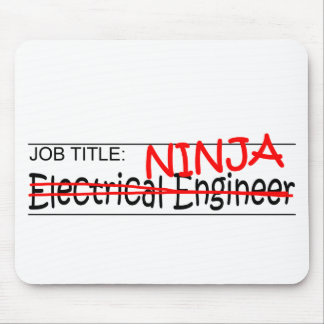 Job Title Ninja EE Mousepad