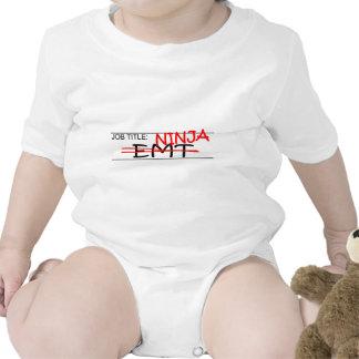Job Title Ninja - EMT Tshirt