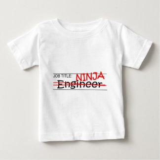Job Title Ninja - Engineer Baby T-Shirt