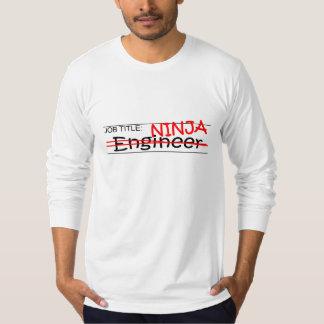 Job Title Ninja - Engineer T-Shirt