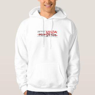 Job Title Ninja - Hair Stylist Hooded Pullover