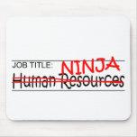 Job Title Ninja - HR Mouse Pad
