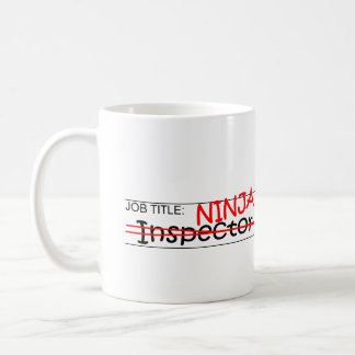 Job Title Ninja - Inspector Coffee Mug