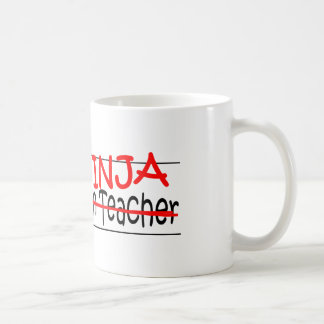Job Title Ninja - Kindergarten Tchr Coffee Mug