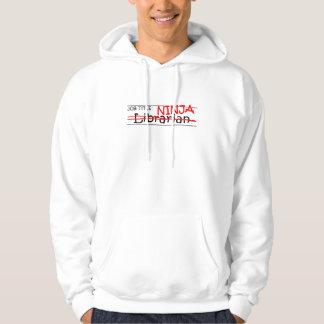 Job Title Ninja - Librarian Hoodie