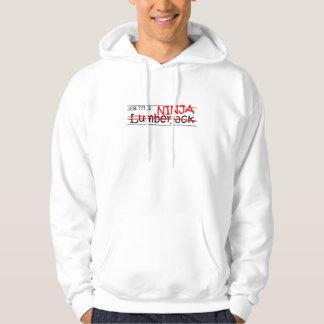 Job Title Ninja - Lumberjack Hoody