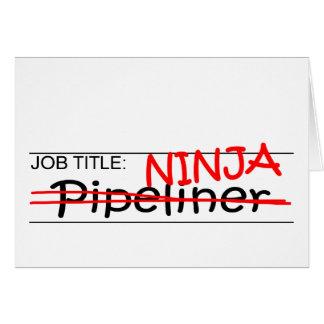 Job Title Ninja - Pipeliner Card
