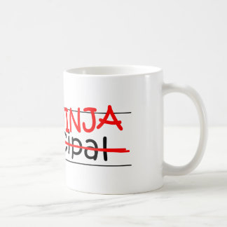 Job Title Ninja - Principal Coffee Mug