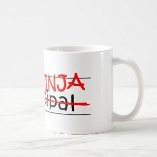 Job Title Ninja - Principal Classic White Coffee Mug