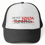 Job Title Ninja - Realtor Trucker Hat