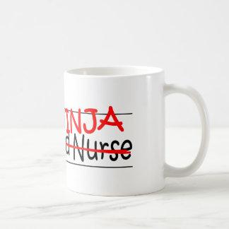 Job Title Ninja - RN Coffee Mug