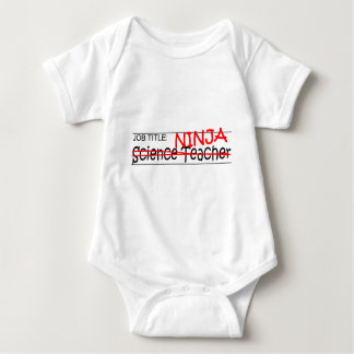Job Title Ninja - Science Teacher Baby Bodysuit