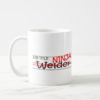Job Title Ninja - Welder Coffee Mug