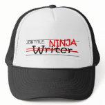 Job Title Ninja - Writer Trucker Hat
