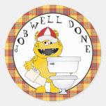 Job Well Done Potty Training Sticker