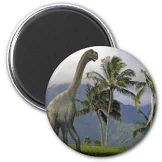 Jobaria Dinosaur 2 Inch Round Magnet