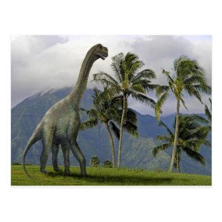 Jobaria Dinosaur Postcard