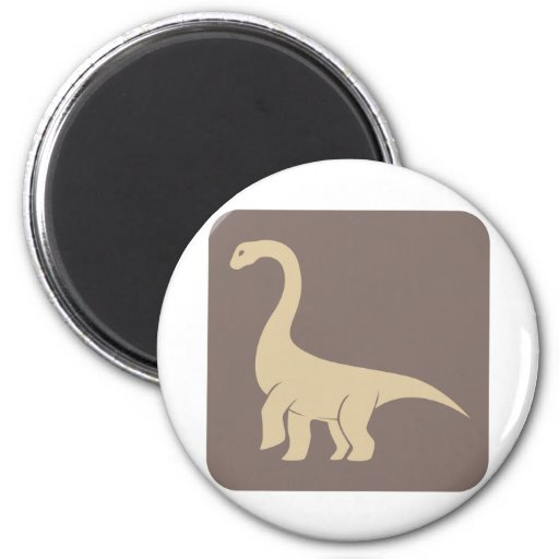Jobaria Sauropod Dinosaur Icon Refrigerator Magnet