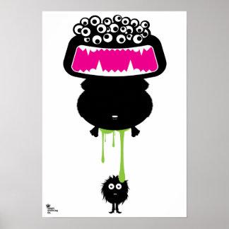 Jobby Monster Poster
