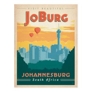 JoBerg, Suráfrica Tarjeta Postal
