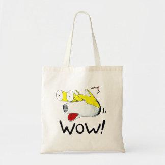 Jobi is so surprised tote bag