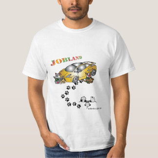 Jobland Concept, A COLLABORATION WITH SAUN HAYES T-Shirt