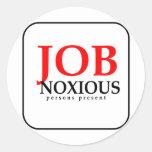 JobNoxious Stickers