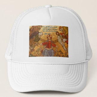 Jobs 8:21 Jesus Mosaic Trucker Hat