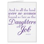 Job's Daughters Greeting Card