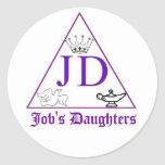Job's Daughters Stickers