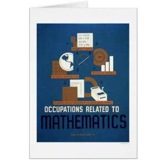 Jobs In Mathematics 1937 WPA Cards