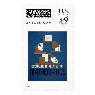 Jobs In Mathematics 1937 WPA Postage Stamps