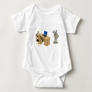 JobSecurity112409 Baby Bodysuit